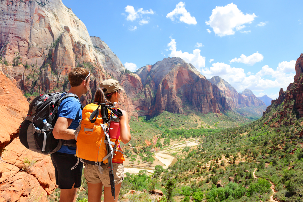 What do you do if you are injured hiking on of Utah's National Parks?